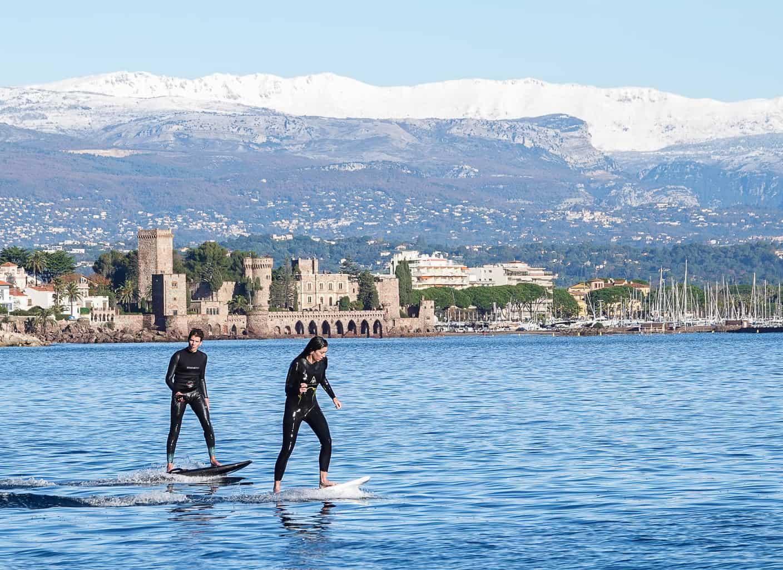 apprendre le foil electrique en méditerranée